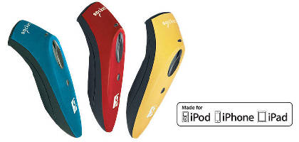 Barcode Scanners come in colors to optimize retail branding.