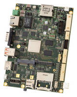 Multicore ARM® SBCs combine graphics, industrial I/O.