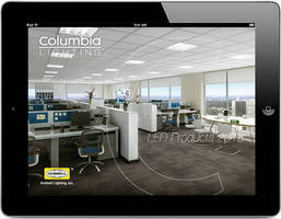 Columbia Lighting's LED 2013 Product Application for iPad - New & Improved Version Available