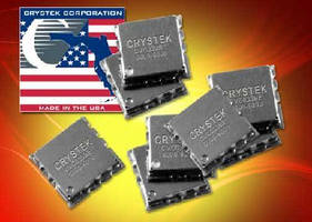 Voltage Controlled Oscillator provides +5 dBm output power.