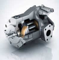 Axial Piston Pump handles pressure spikes up to 4,600 psi.