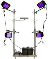 UV LED Light Cart offers 365 nm output and flexible placement.
