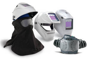 Powered Air Purifying Respirators offer hard-hat assemblies.