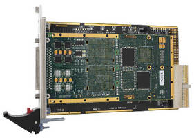cPCI/PXI Card offers test and simulation features.