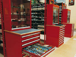 Parts Storage Units help organize workshops.