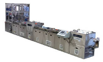 Ultrasonic Cleaning Systems handle 600-1,800 parts per hour.