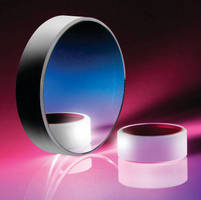 Broadband Coated Optical Mirrors offer >99% reflection.