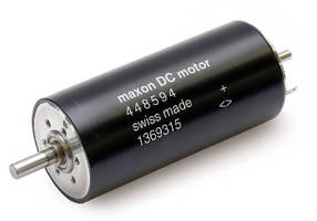 DC Motor supports fine rotary motions.