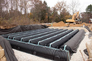 Cultec Stormwater System Satisfies Conn. Town's Stormwater Requirements