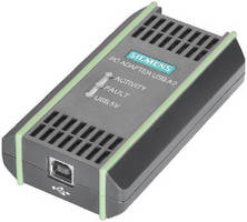 USB Adapter supports diagnostics and commissioning.