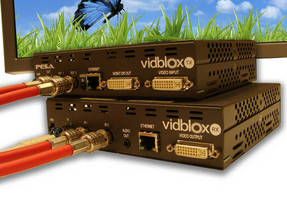 PESA Extends Vidblox DVI Series with 2K Extenders for Coax or Fiber Distribution