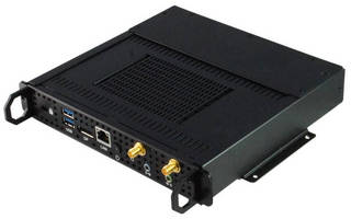 OPS-Compliant Signage Player is powered by Intel Core processors.