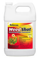 Selective Herbicide kills weeds but not grass or other plants.