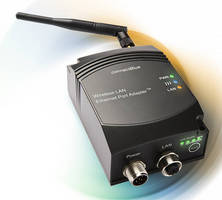 Dual-Band Ethernet Port Adapter features external antenna.