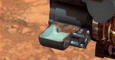 Mars Rover Collects First Drill Sample