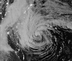 Hurricane Sandy VIIRS Satellite Images
