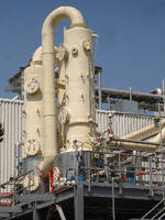 Scrubber System offers gas capacities from 100-150,000 acfm.