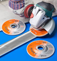 Flexible Abrasive Wheels optimize blending control.