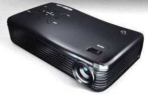 Wireless Android Pico Projector supports 1080p videos.