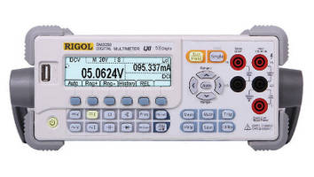 Digital Multimeter features 5 1/2 digit resolution. .