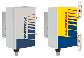 A/C Electronics Enclosure Coolers conserve compressed air use.