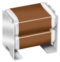 Multilayer Stacked Capacitors feature X8L dielectric.