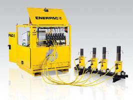 Synchronous Lifting System uses digitally controlled hydraulics.