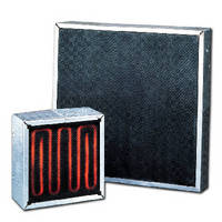Infrared Panel Heaters output up to 20 W/in.² .