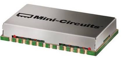 Wideband Power Splitter has surface mount design.