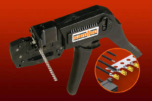 Crimping Tool handles discrete wire components.