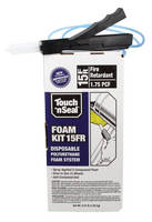 Touch 'n Seal Introduces Updated Foam Kit 15FR Polyurethane Foam System with New, Easy-to-Use Features