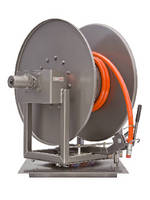 Hose Reels support sewer cleaning operations.