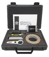 Crosscut Adhesion Tester features dual stainless steel shims. .