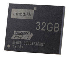 Industrial Embedded SATA µSSD measures 16 x 20 x 2 mm.