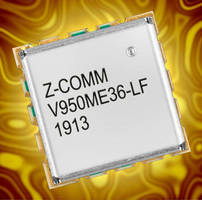 RoHS-Compliant C-Band VCO features linear tuning, low noise.