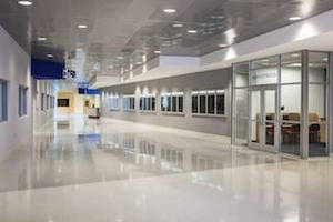"Chicago Metallic SpanAir Ceiling System Delivers ""Wow Factor"" at Florida's Manatee Technical Institute"