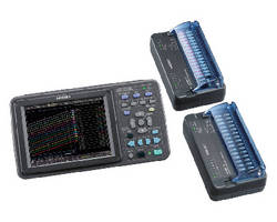 Wireless Logging Station captures data from 105 channels.
