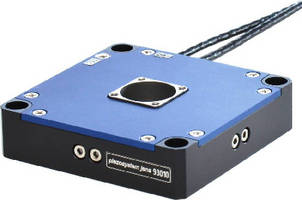 Nanopositioning Stage offers 40 microns of travel per axis.