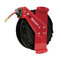 Side-Mounted Hose Reel suits air and water applications.