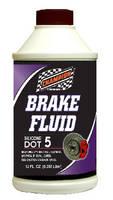Brake Fluids feature DOT 5 and DOT 5.1 designations.