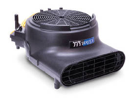 Carpet Dryers deliver max air velocity of 3,400 fpm.