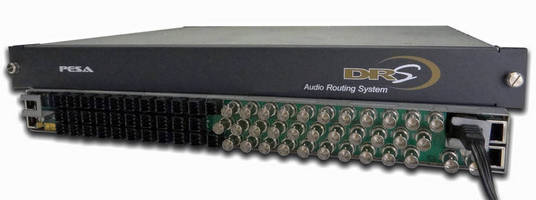 PESA to Promote Audio Router Solutions with Conversion Options at InfoComm 2013