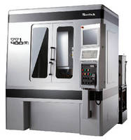 Electrode Machining Center utilizes linear motor drive.