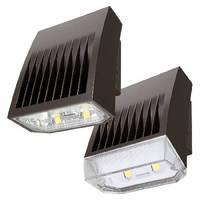 LED Wall Pack Luminaires deliver up to 7,416 lumens.