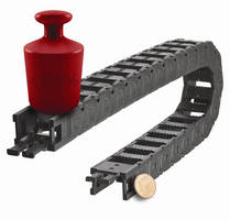 Cable Carriers are built to be sturdy and quiet.