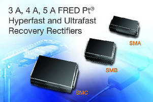 Fast Recovery Rectifiers minimize switching losses.
