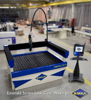 Waterjet System features ball screw drive.