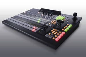 Video Production Switcher functions as virtual 6 M/E device.