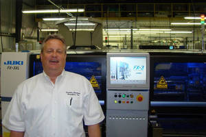 Carolina Electronic Assemblers, Inc. Places Order for Large Board Line from Juki