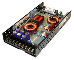 Convection-Cooled Power Supply offers up to 90% efficiency.